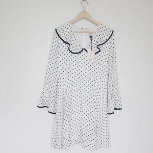Joanie polka dot dress NWT - US 8